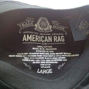 American Rag Shirts - American Rag T-Shirt LARGE - NEW w/tags